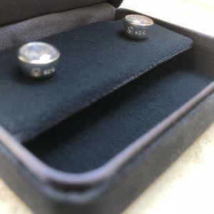 Jewelry - Sterling Silver Swarovski Crystal Stud Earring